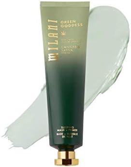 Milani Green Goddess Sleeping Mask Primer Self Care Hemp Oil Face Mask To Relax Skin Reduce product image