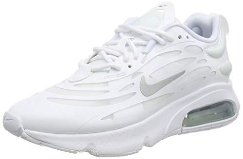 Nike W Air MAX EXOSENSE, Zapatillas para Correr Mujer, White Mtlc Silver, 37.5 EU