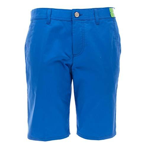 ALBERTO Herren Shorts Earnie - Ceramica Gabardine, Größe:52, Farbe:Blau(825)