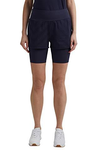 ESPRIT Sports per Short Pantalones Cortos de Tenis, 400, M para Mujer