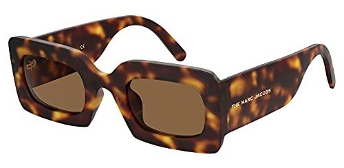 Marc Jacobs Gafas de sol para mujer, marrón
