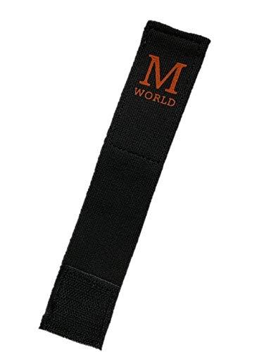 帯止め 1個 //空手 道着 帯留め 帯 ほどけ防止 キッズ 子供 M-WORLD (ブラック×オレンジ)