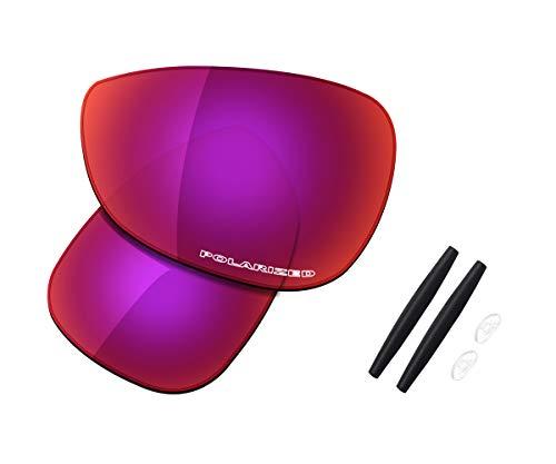 Juego de lentes de repuesto y de goma para gafas de sol Oakley Crosshair 1.0 (2005), (High Defense - Midnight Sun Polarized), Talla única