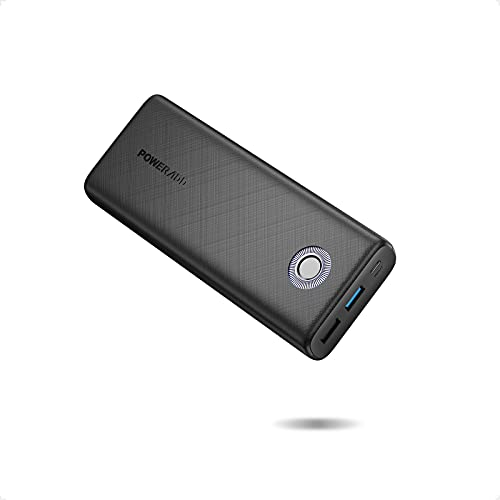 Powerbank POWERADD 20000mAh QC 18W, EnergyCell Power Bank Quick Charge 3.0 Extern Akku Portable Charger Tragbares Ladegerät für iPhone Samsung Huawei iPad Tablets Nintendo Switch und Mehr Smartphone