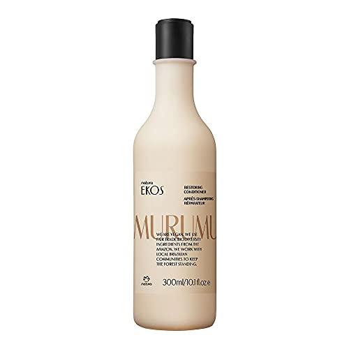 NATURA - Ekos Murumuru Reparierende Haarspülung - Für geschädigtes, trockenes und brüchiges Haar - Repariert und entwirrt die Haare wirkungsvoll - 100 % vegan - Cruelty...