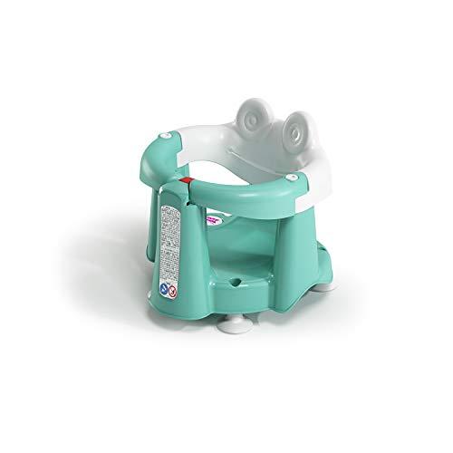 OKBABY OKBABY - Crab - Anello da Bagno apribile per Bagnetto Neonato 6-15 Mesi (13 kg) - Azzurro