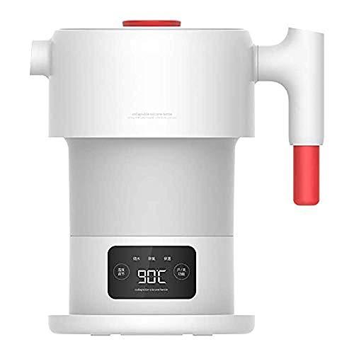 Elise 0.6L Faltbare Reisewasserkocher Schnelle Boil Dual Voltage Silikon zusammenklappbaren Wasserkocher for Outdoor-Reisen Camping