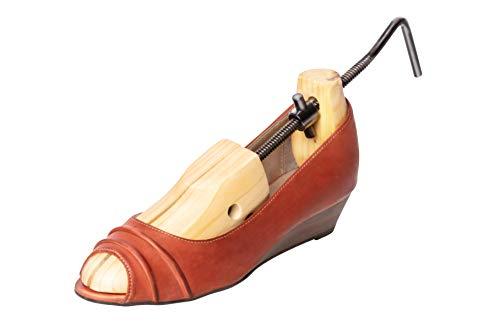 UPP Schuhdehner I Schuhspanner Damen für Größen 32-43 I Schuhspanner aus Zedernholz dehtn Schuhe in Länge und Breite und einzelnen Punkten I Stabiler Schuhweiter [1 STK.]