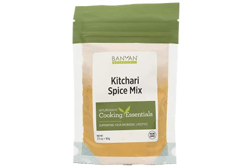 Banyan Botanicals Kitchari Spice Mix – Ayurvedic Kitchari Seasoning Made with Organic Herbs & Spices – For Ayurvedic Cleanses & Digestive Health – 3.5 oz – Non GMO Sustainably Sourced Vegan