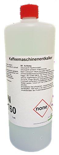 Kaffee Kaffeemaschinen-Entkalker 6 x 1 Liter - Flüssigentkalker für alle Hersteller