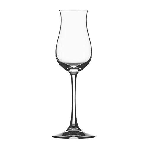 WWWANG Crystal Copas de Vino del cubilete pequeña 135ml Almacenamiento pequeño, práctico y portátil (Color : Clear, Size : 135ml)