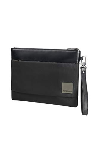 SAMSONITE Hip-Square - Tablet Clutch M 7.9 Umhängetasche, 26 cm, 2 L, Black