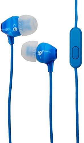 Sony MDREX14APB Audífonos intrauditivos de Silicón, color Azul