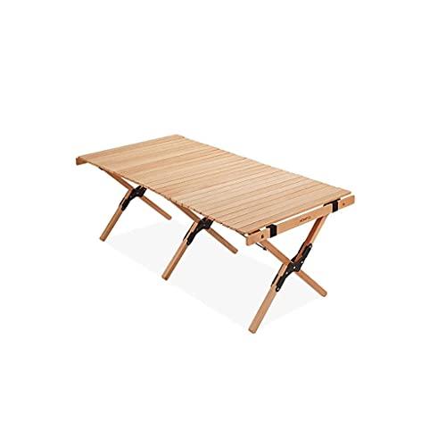 Dpliu Mesa de Camping portátil para al Aire Libre Plegable de Mesa Playa, Camping, picnics, cocinas y más - Mesa de Picnic a Prueba de Intemperie (Color : 90cm)