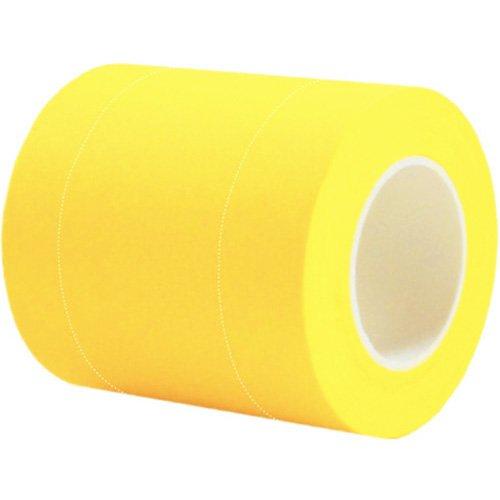 自由な長さにカット、メモ、貼付、便利でスマートなロールふせん 「ROLF(ロルフ)アルファ リフィル」巾50mm 1本組 ※ミシン目2本入 (イエロー)