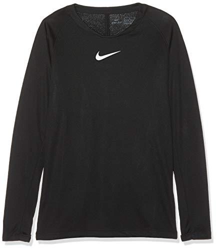 Nike Y NK DRY PARK 1STLYR JSY LS T-shirt à manches longues Mixte Enfant Noir/Blanc FR : L (Taille Fabricant : L)
