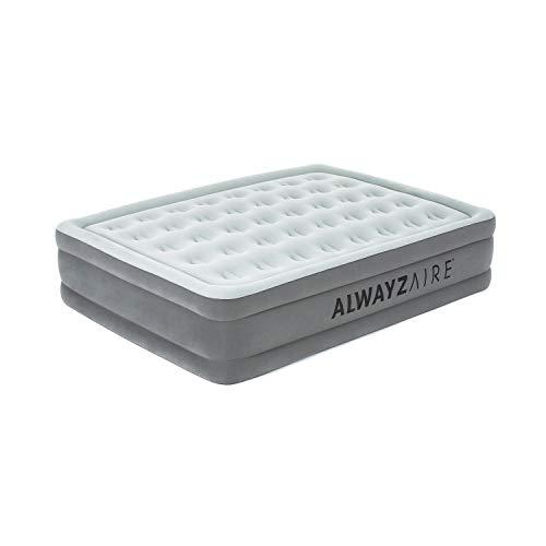 Bestway AlwayzAire Basic Luftbett mit integrierter Elektropumpe Double XL/Mid 203 x 152 x 46 cm