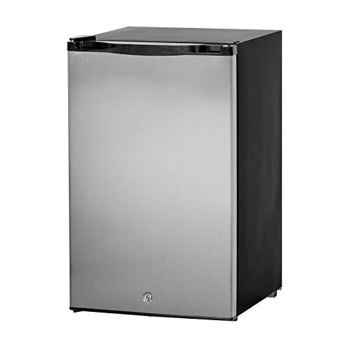 Summerset Outdoor Refrigerator, 4.5 Cubic Feet, Left Hinge (SSRFR-21S-R)