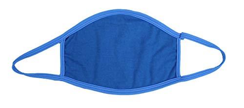 S.B.J - Sportland Mund-Nase-Maske Baumwolle blau   Gesichtsmaske