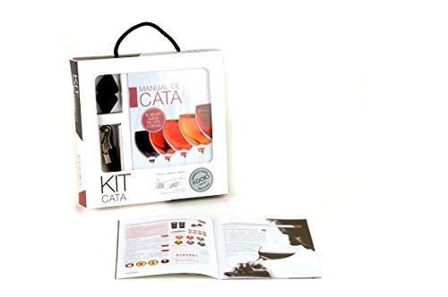 Koala Internacional Hosteleria Kit de Cata en Español, Burdeos, 24x4.6x24 cm