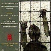 Music from 6 Continents: Bonhoeffer-Triptychon [Audio CD] Herman Berlinski; Heinz Werner Zimmermann; Robert M. Helmschrott; Hans-Christoph Rademann and Dresden Chamber Choir