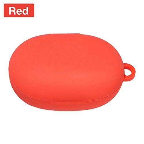 chivalrylist Bluetooth koptelefoon True In-Ear koptelefoon Soft Protection Case Cover voor Libratone Track Air + rood