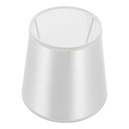 Mobestech Pantalla para lámpara de mesa de tela, cubierta para lámpara de pared, lámpara de pie, lámpara de araña