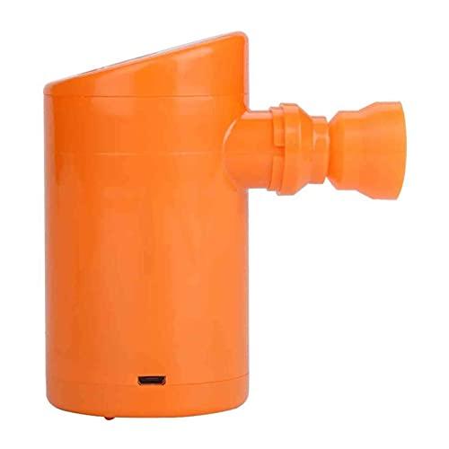 Pompa per aria elettrica ricaricabile, mini elettrica USB Pompa del gonfiatore dell'aria, gonfiatore ad aria elettrica di riempimento rapido portatile, per il materasso di campeggio, anello di nuoto