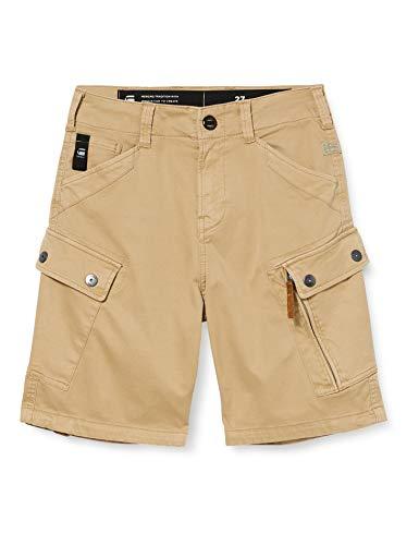 G-STAR RAW Roxic Pantalones Cortos, Sahara GD C096/B680, 36W Mens