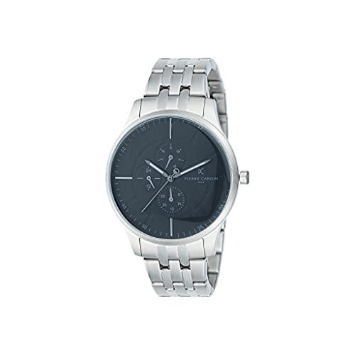 Pierre Cardin A.PC902731F108 - Reloj de pulsera para hombre (cuarzo, acero inoxidable, correa de acero inoxidable)