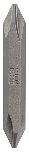 Bosch 2 607 001 739 - Lámina doble de destornillador - PH1; PH1; 45 mm (pack de 1)
