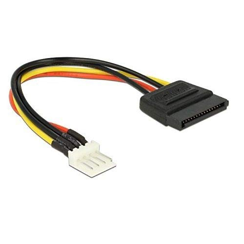 CABLEPELADO Cable alimentacion SATA 15 Pines a Floppy 4