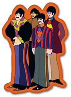 Beatles Yellow Submarine Vynil Car Sticker Decal - Select Size