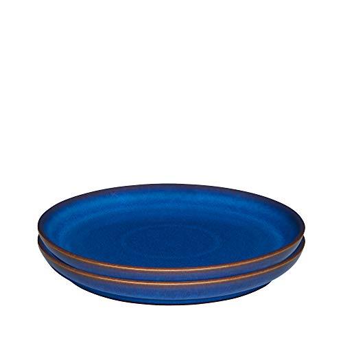 Denby 001048824 Teller, Steingut, blau