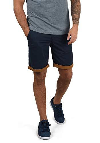 Blend Neji Herren Chino Shorts Bermuda Kurze Hose Mit Gürtel Aus 100{f0419655339b9658d9975b49d8cd9347af9d7aa8afc83fdac73d94aae6d7d60a} Baumwolle Regular Fit, Größe:M, Farbe:Navy (70230)