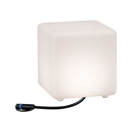 Paulmann 941.80 Outdoor Plug & Shine Lichtobject Cube IP67 3000K 24V 94180 kubuslamp decoratieve kubus buitenverlichting tuinverlichting terrasverlichting
