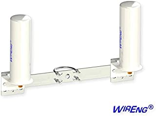 BoatAnt2 Dual Antenna for Connected IO EM1000T-NA-CAT1 Marine Fully Enclosed 24k Gold-Plated Connectors (Rev. 5.1)