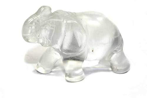 Elefante 42 mm, cristal de roca.