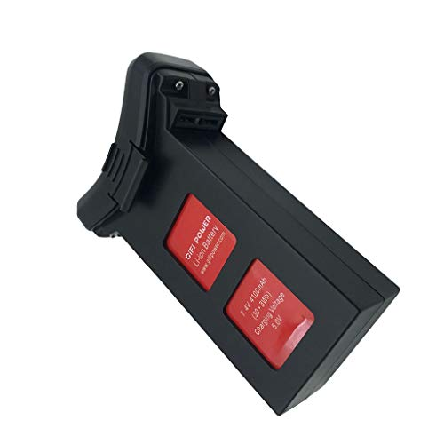 Upgrade 7.4V 4100mAh Lipo Battery Part Compatible with HS100 SJRC S70W Dorne Quadcopter by Pstarts