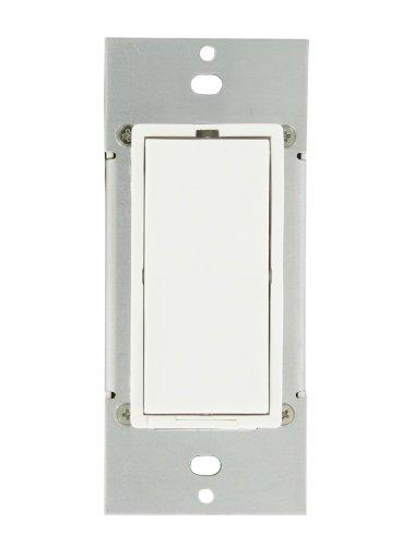 Leviton 35A00-1 600-watt HLC UPB Dimmer Switch, White