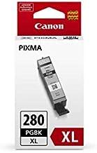 Canon PGI-280XL Pigment Black Ink Tank, Compatible to TR8520, TR7520, TS9120, TS8120, and TS6120 Printers
