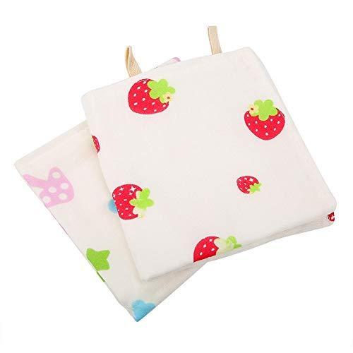 2 Pack Baby Musselin Waschlappen Extra Weiche Saugfähige Baumwolle 6 Schichten Speicheltücher Gesichtstuch Dicke Spucktücher Taschentuch Baby Registry Dusche Geschenk für Baby