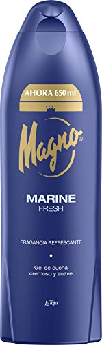 Magno Gel de Ducha Marine 650ml Fragancia Exclusiva y Refrescante, 1 x 68 g