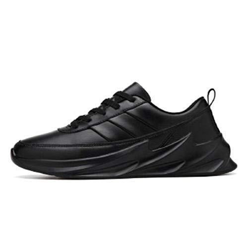 MEGPAR UDDIBABA Men' S Mesh Black White Shark Running Walking Gym Outdoor Jogging Casual Shoes-9 UK