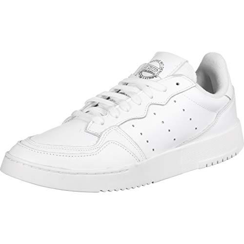 adidas Originals Mens Supercourt Sneaker, Footwear White Footwear White Core Black, 42 EU