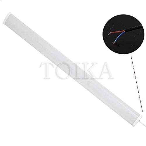 AKATOBA 2ft LED Vapor Proof Tube Light Waterproof IP65 2 Foot 30W 3600 LM Waterproof Dustproof Ceiling Lights Shop Light Factory Warehouse Industrial Outdoor Lighting 100W Equivalent (48, Warm White) 4