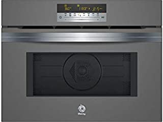 HORNO INDEPENDIENTE COMPACTO BALAY 3CW5179A0 45CM.GRIS ANTRACITA