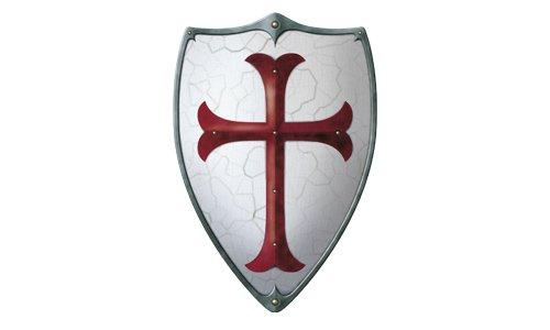 Holzspielerei Madera Truco 53576 - Caballeros Templarios Escudo
