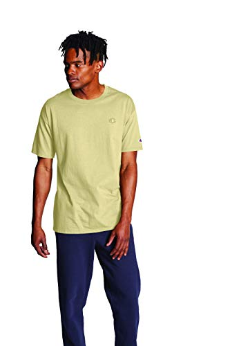 Champion Men's Classic Jersey Tee, Melted Butter, Large