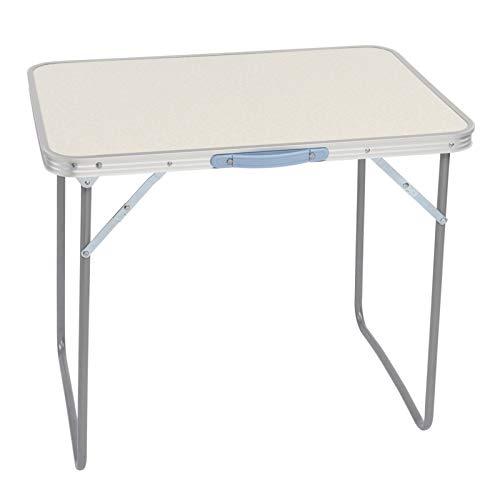 YU-R Mesa plegable de aluminio para camping, mesa de picnic portátil, mesa de barbacoa, autoconducción, mesa de picnic plegable (70 x 50 x 60 cm)